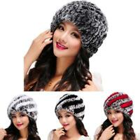 Women Ladies Winter Handmade Knit Crochet Slouch Baggy Beret Beanie Hat Ski Caps