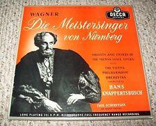 Wagner Die Meistersinger von Nurnberg 1957 Deca LXT 2659-2664 6 LP Box Set EX