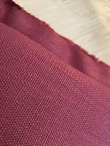 One Metre  Laura Ashley Bacall Dusky Rose Fabric Upholstery, Cushion Craft 100cm