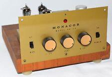 MONACOR SA 10 Mini Small 10-Watt HiFi Vacuum TUBE Stereo Power Amplifier AMP