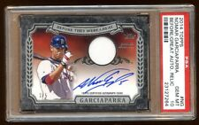 POP 1 PSA 10 NOMAR GARCIAPARRA 2014 TOPPS AUTO JERSEY /5 *BEFORE THEY WERE GREAT
