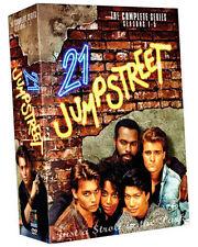 21 Jump Street: Johnny Depp Complete Series Seasons 1 2 3 4 5 DVD Boxed Set NEW!