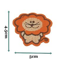 Lion Kids Children Iron on Patch Patches Motif Badge Embroidered Craft 226
