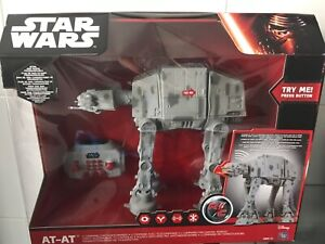 REMOTE CONTROL AT - AT WALKER EMPIRE STRIKES BACK ALL TERRAIN VEHICLE HOTH
