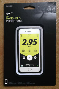 New NIKE Running Handheld Runners Phone Case IPhone 6, 6S, or 7 Unisex Black