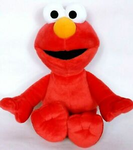"Fisher Price Mattel Red Elmo Sesame Street Plush Stuffed Animal 2009 16"""