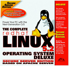The Complete Redhat Linux 5.2 Operating System deluxe  New Sealed in Box