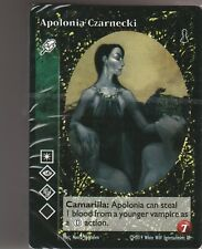 Sealed Unopened Preconstructed Deck First Blood Malkavian Black Chantry VTES