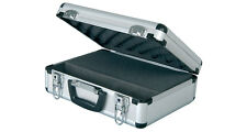 Aluminium Flight Case Lockable Storage Box for Microphones Mics Cameras Cables