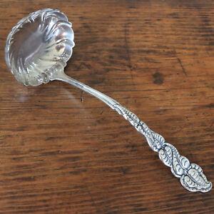 Art Nouveau Tiffany & Co Sterling Silver Punch Ladle Atlantis - Ailanthus 1899