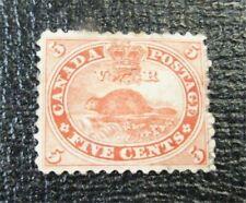 nystamps Canada Stamp # 15 Mint OG H $575   J22x2288