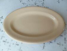 Vintage Tepco China USA Platter Restaurant Ware Tan 10
