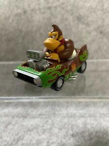 NIntendo  Mario Kart Wii Wild Star Hot Rod Donkey Kong Pull Back Car