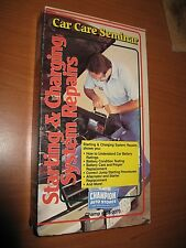 Starting & Charging System Repairs (VHS, Car Care Seminar) Champion Auto RARE