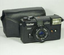 Vintage Vivitar 35EF Camera Film 35mm 1970s Retro Japanese Lens Japan Case Old
