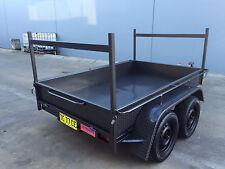 Tandem Box Trailer dual axle WITH LADDER RACKS 8X5 H-DUTY 2T ATM 10x5 10x6 avail