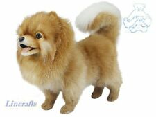 Pomeranian Plush Soft Toy Dog by Hansa 7018