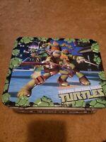 Teenage mutant ninja turtles Puzzle 48 Pcs Metal Box