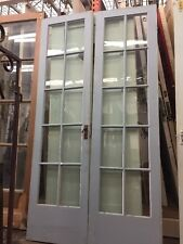 "1920S Old French Doors With Glass 80"" X 21"