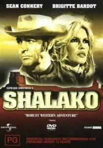 SHALAKO DVD Sean Connery Movie Rare 1968 - BRAND NEW - Australian Region 4 PAL