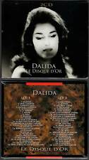 """DALIDA """"Le Disque d'Or"""" (2 CD) 50 Titres 2012 NEUF"""