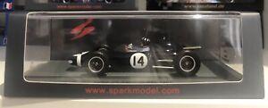 Spark 1/43 S7122 Lotus 24 #14 Kanonloppet 1962 Graham Hill