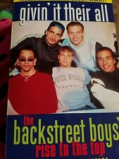Givin' it their all The Backstreet Boys Rise to the Top Book