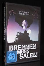 DVD BRENNEN MUSS SALEM - nach dem Roman von STEPHEN KING - HORROR - JAMES MASON