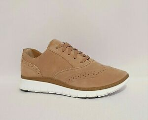 VIONIC FRESH KENLEY TAN BROWN ORTHOTIC OXFORD SUEDE CASUAL SHOES WOMENS WIDE
