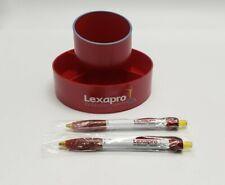 NEW Risperdal Drug Rep Pharmaceutical Revolving Pencil Caddy and Pen Lot