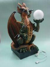 Tischleuchte Drachen Barock Lampen Tisch Leuchte Leuchten Lampen Dragon 77cm