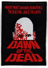 DAWN OF THE DEAD HORROR MOVIE POSTER ART PATCH EMBROIDERED vintage cult sci-fi