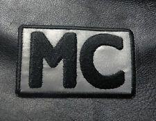 MC REFLECTIVE EMBROIDERED BIKER OUTLAW PATCH MC CLUB PATCH
