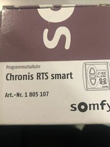 Somfy Funk-Zeitschaltuhr Chronis RTS Smart 1805107 *NEU*