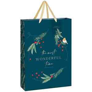 Winter Woods Gift Bag XL The Most Wonderful Time