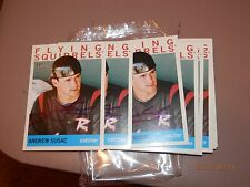 ANDREW SUSAC GIANTS AUTOGRAPED 2013 TOPPS  HERITAGE #107 FLYING SQUIRRELS