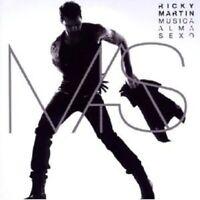 "RICKY MARTIN ""MUSICA+ALMA+SEXO"" CD NEU"