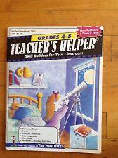 Teacher's Helper Skill Builders for Your Classroom Mailbox Book Grades 4-5 2001