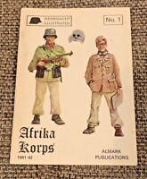 Afrika Korps 1941-42 Almark Wehrmacht Illustrated #1 - Paperback