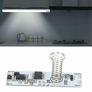 Touch Switch Module Lamp Dimmer Control Module DC3.7V‑24V for Cabinet Table Lamp