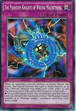 3 X YU-GI-OH CARD: THE PHANTOM KNIGHTS OF WRONG MAGNETRING - MACR-EN067