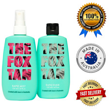 The Fox Tan Rapid Mist And Tanning Elixir Australian Tanning Accelerator Lotion