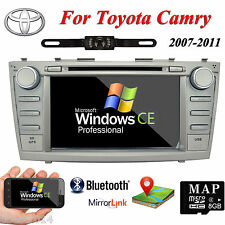 "8"" In Dash Car DVD GPS Player Radio Stereo HD Screen For Toyota Camry 2007-2011"