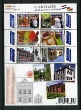 Nederland NVPH 2752-57c Vel Grenzeloos Nederland Suriname 2010 Postfris