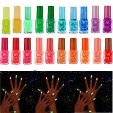 AM_ Glow in the Dark Nail Varnish Neon Fluorescent Polish Luminous Paint Party R