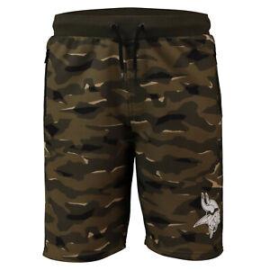 NFL Shorts Trousers Minnesota Vikings Digi Camo Camouflage Training Football