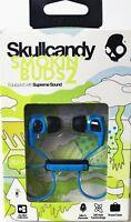 Skullcandy Smokin Buds 2 Wired In-Ear Headphones w/ Mic Blue