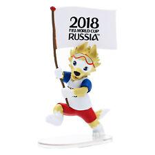 Mascot Zabivaka (h=9cm)+32 flags' stickers. FIFA World Cup Russia 2018