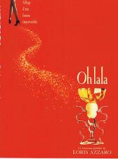 PUBLICITE ADVERTISING 014   1995   LORIS AZZARO   parfum  OH LA LA
