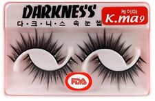 10 Pairs Darkness False Eyelashes Kma9 k.ma k-ma